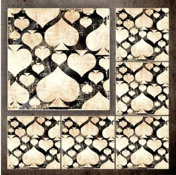 Fliesenaufkleber - Klebefliesen - antike Fliesen 22