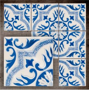 Fliesenaufkleber - Klebefliesen - antike Fliesen 34